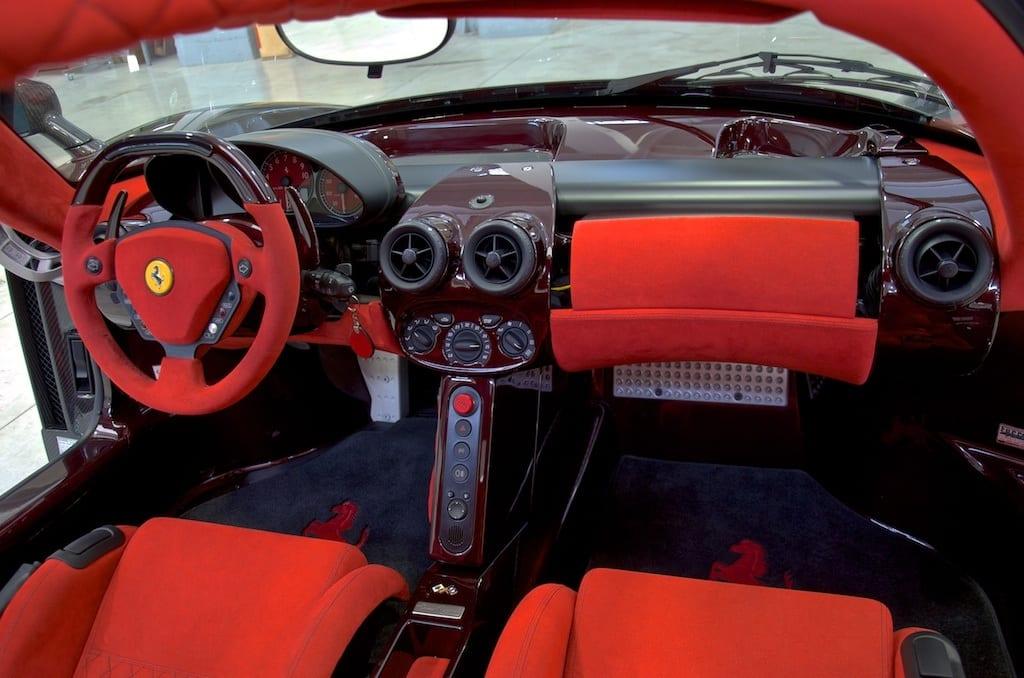 One Off Ferrari Enzo In Carbon Black For Sale Agent4stars Com
